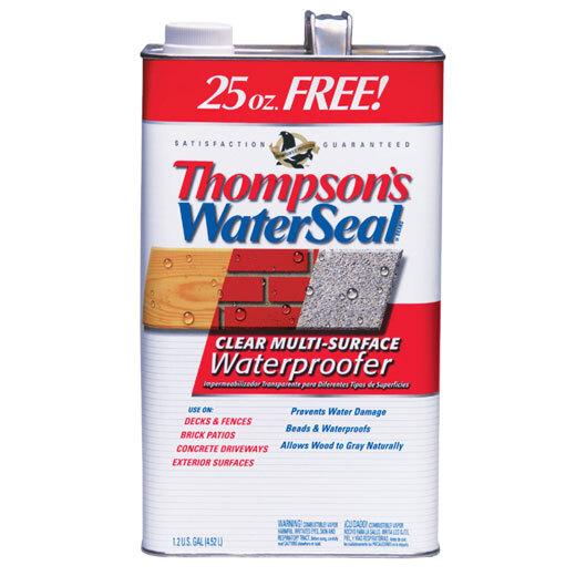 Sealers, Waterproofers & Preservatives
