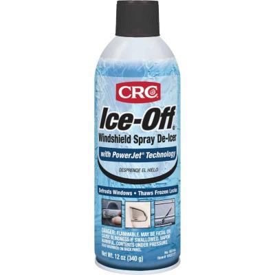 CRC Ice-Off 12 Oz. Aerosol Windshield  De-Icer
