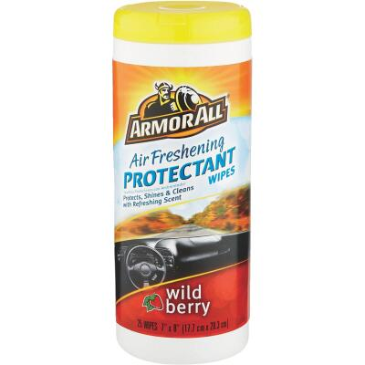 Armor All Wild Berry Scent Wipe Protectant Wipe