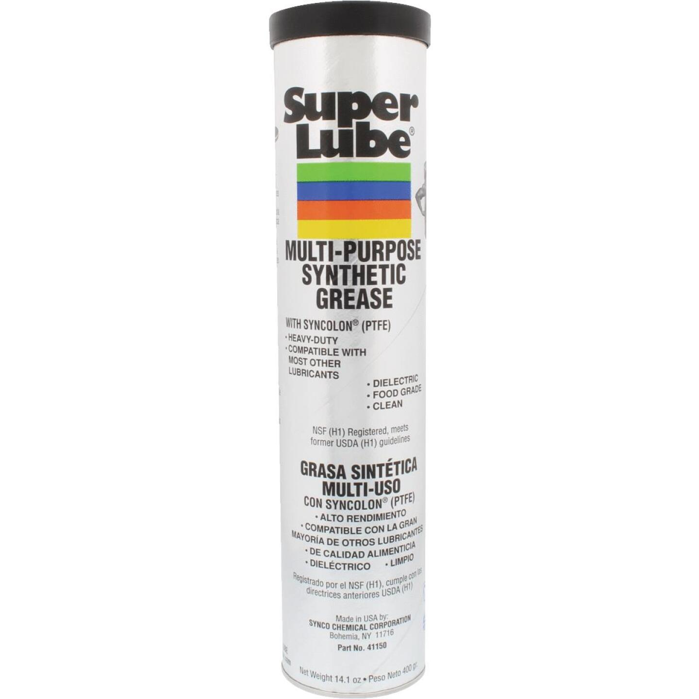 Super Lube 14 Oz. Cartridge Synthetic Multi-Purpose Grease Image 1