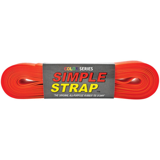 Simple Strap 40 mm x 20 Ft. Red Regular Duty Tie-Down Strap