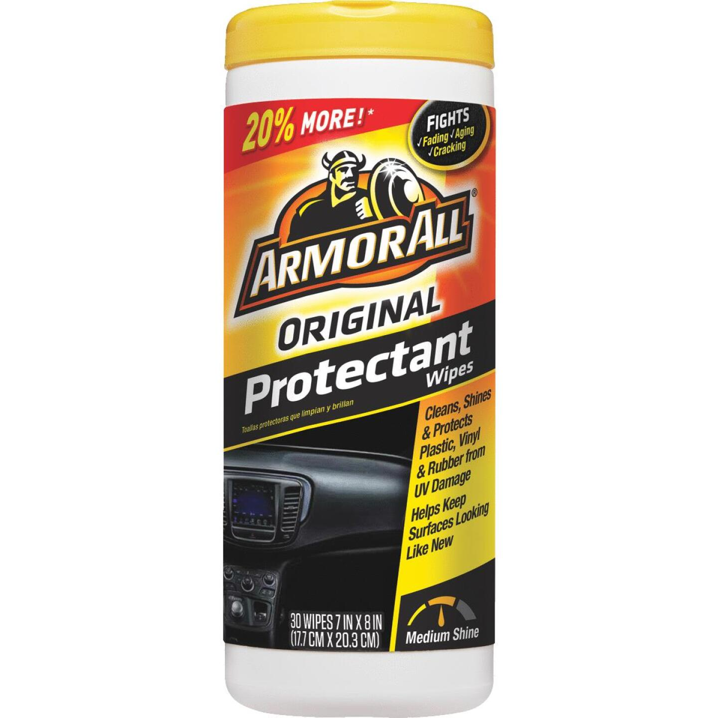 Armor All Original Protectant Wipe (30-Count) Image 1