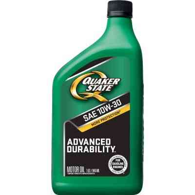 Quaker State Advanced Durability 10W30 Quart Motor Oil