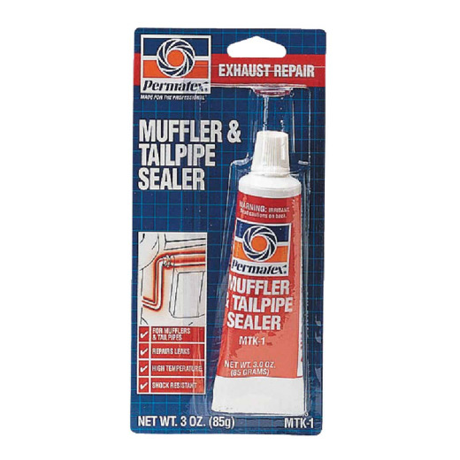 Permatex Tube 3 Oz  Muffler & Tailpipe Sealer