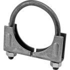 "Victor Saddle 2-1/2"" 13-gauge Steel Muffler Clamp Image 1"