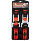 Erickson 1 In. x 8 Ft. Ratchet Strap with Web Clamp (2-Pack) Image 1