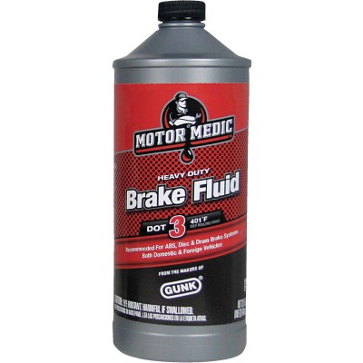 MotorMedic 32 Oz. Heavy-Duty DOT 3 Brake Fluid