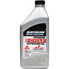 Mercury Quicksilver 16 Oz. Outboard 2-Cycle Motor Oil Image 1