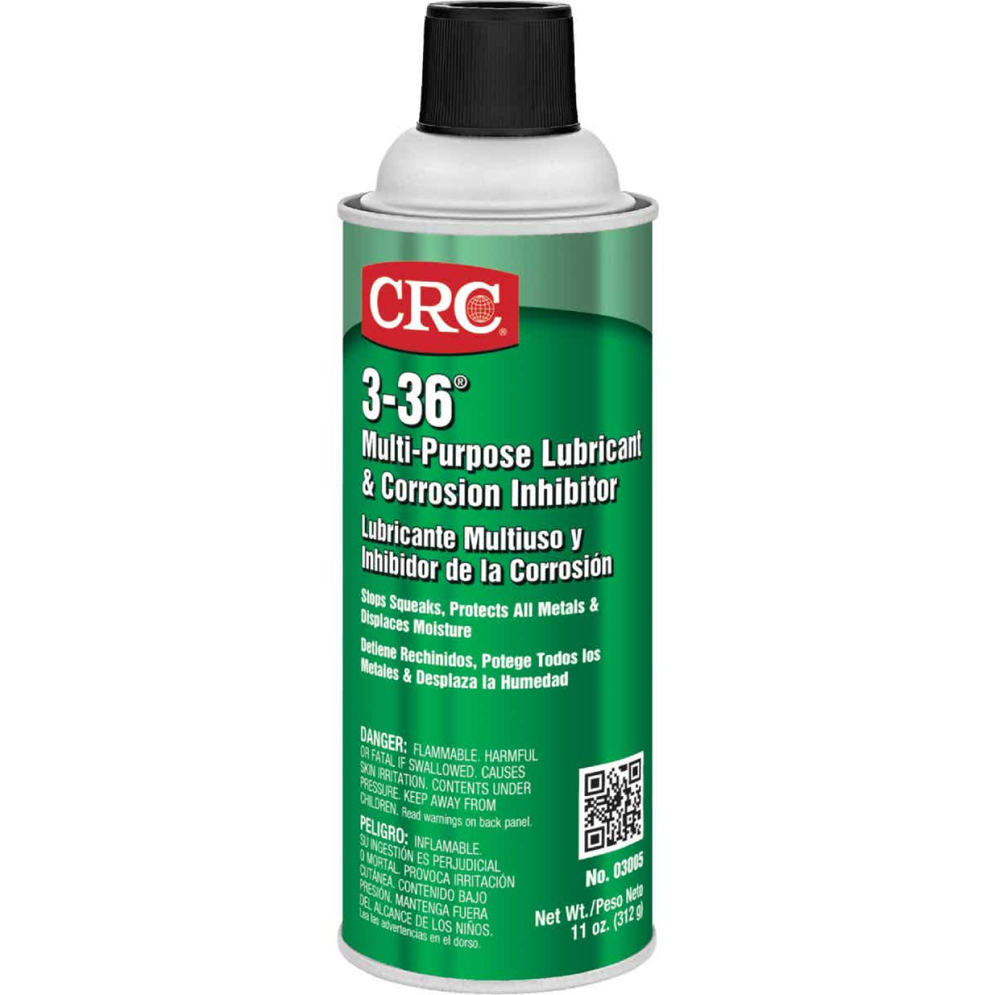 CRC Industrial 3-36 11 Oz. Aerosol Multi-Purpose Lubricant Image 1