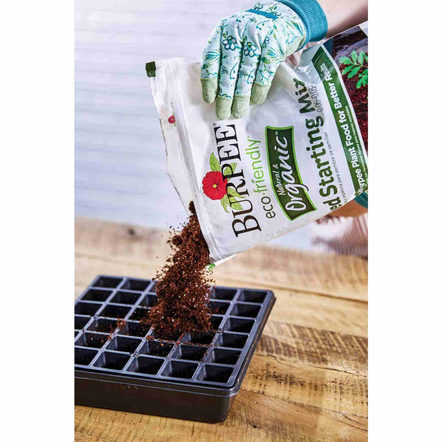 Burpee 8 Qt. 6 Lb. All Purpose Container Organic Seed Starting Mix Image 2