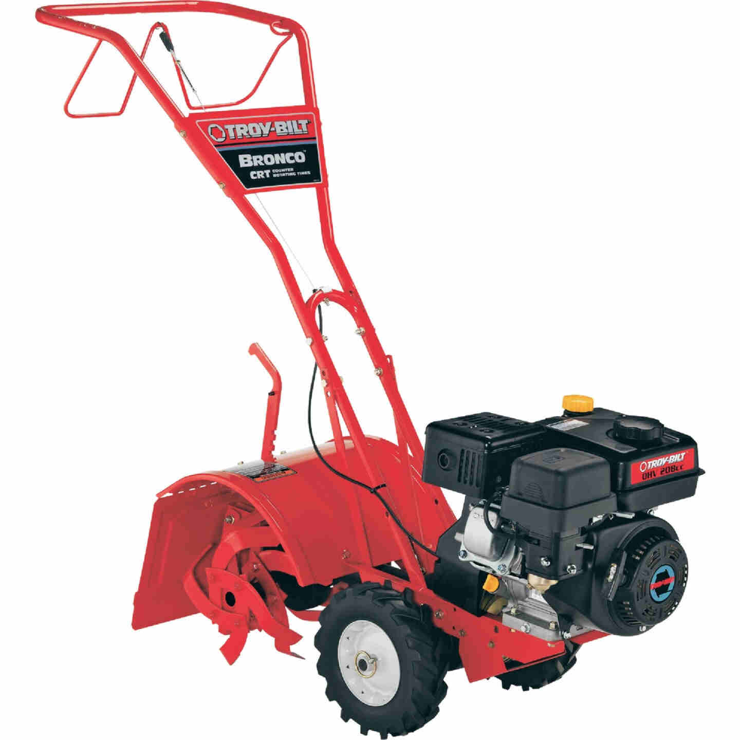 Troy-Bilt Bronco 14 In. 208cc Rear Tine Counter-Rotating Garden Tiller Image 1