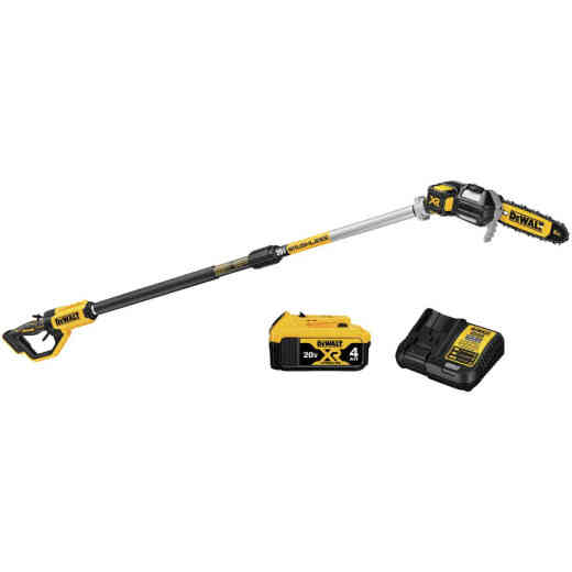 DeWalt 8 In. 20V MAX XR Cordless Pole Saw Kit