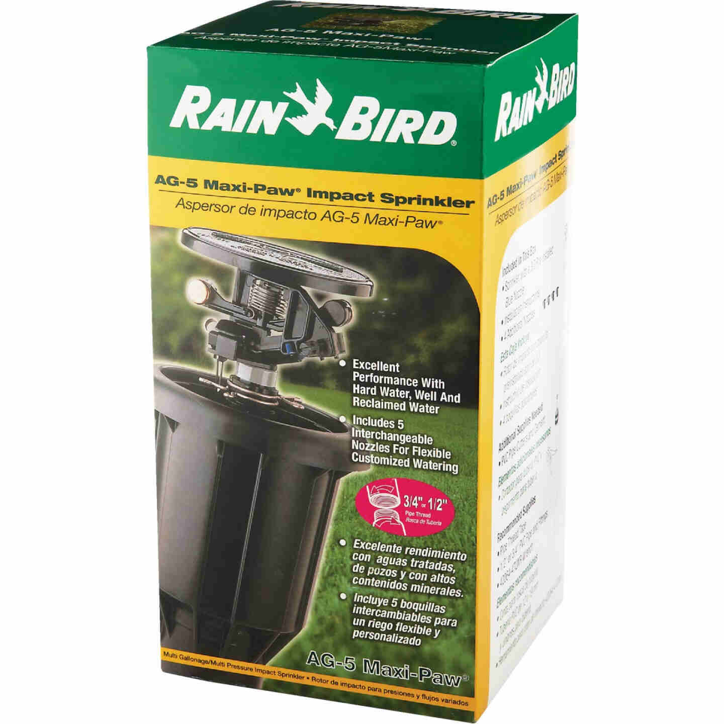 Rain Bird 3 In. Full or Partial Circle Deluxe Pop-Up Impact Head Sprinkler Image 3