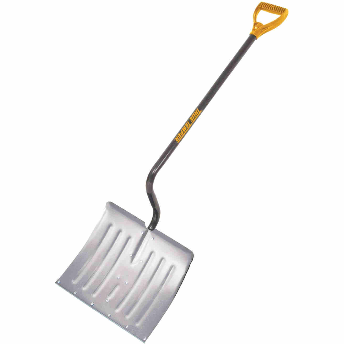 True Temper 18 In. Aluminum Snow Shovel with 37.5 In. Steel Handle Image 1