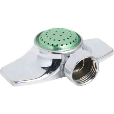 Best Garden Metal 30 Ft. Dia. Spot Stationary Sprinkler, Metallic & Green