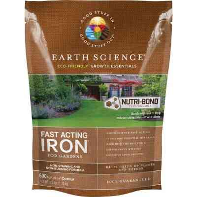 Earth Science Fast Acting 2.5 Lb. 1250 Sq. Ft. Coverage Iron & Soil Acidifier
