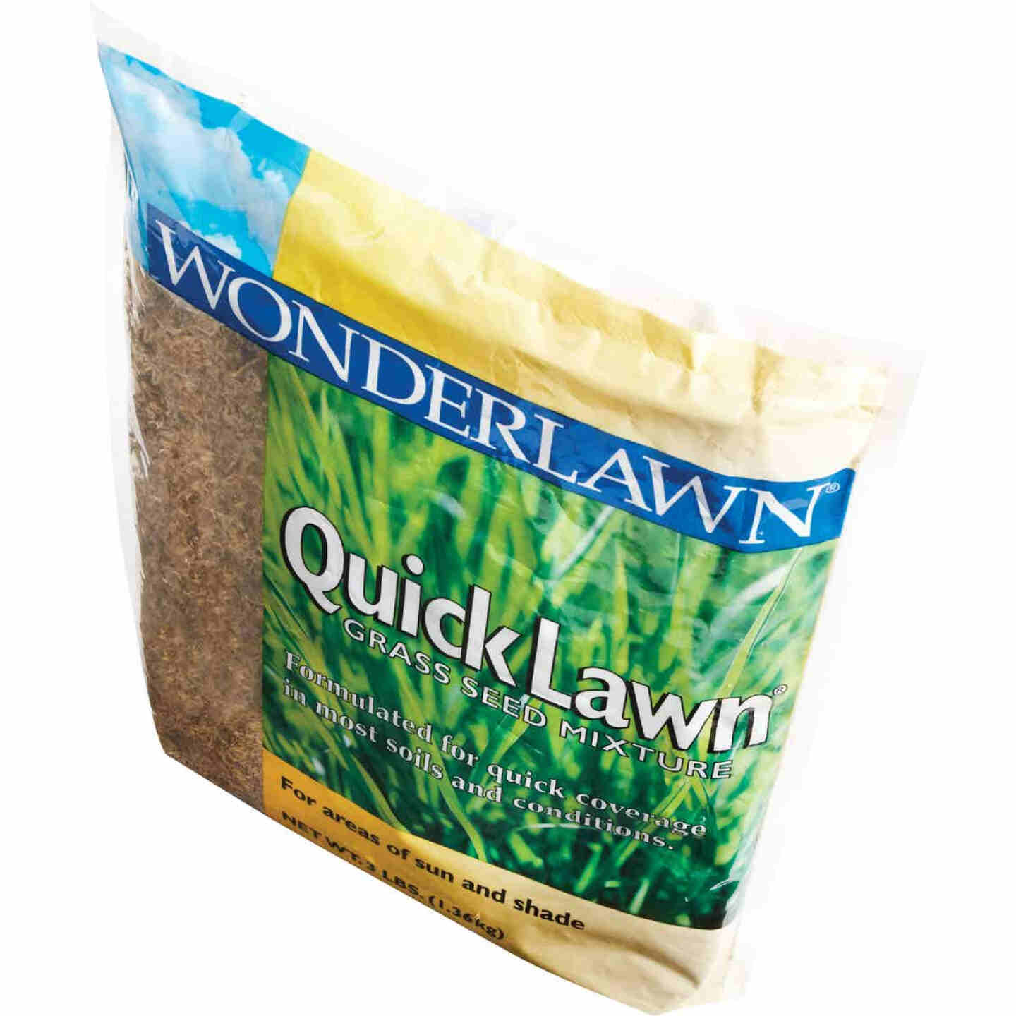 Wonderlawn Quick Lawn 3 Lb. 900 Sq. Ft. Coverage Annual & Perennial Ryegrass Grass Seed Image 5