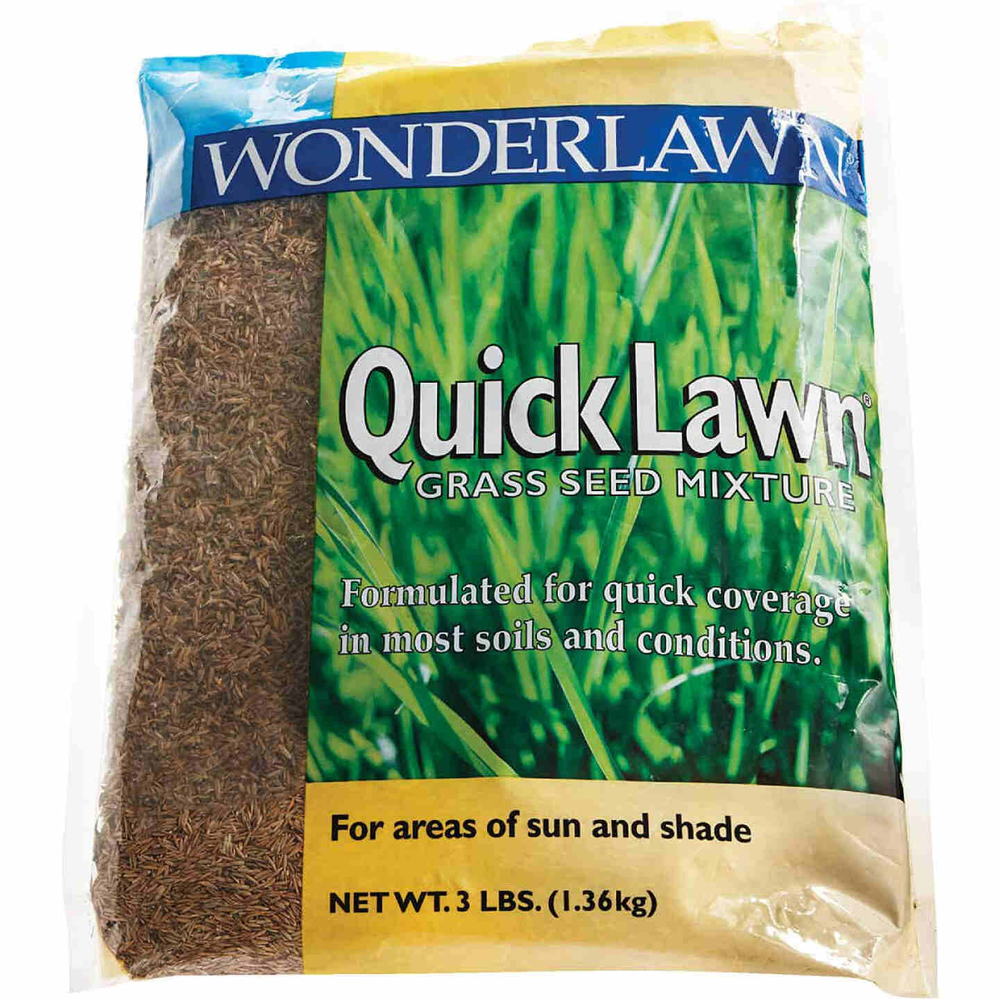 Wonderlawn Quick Lawn 3 Lb. 900 Sq. Ft. Coverage Annual & Perennial Ryegrass Grass Seed Image 6