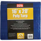 Do it Best Blue Woven 16 Ft. x 20 Ft. General Purpose Tarp Image 1