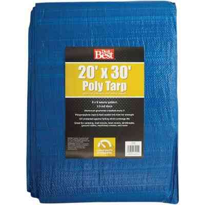 Do it Best Blue Woven 20 Ft. x 30 Ft. General Purpose Tarp