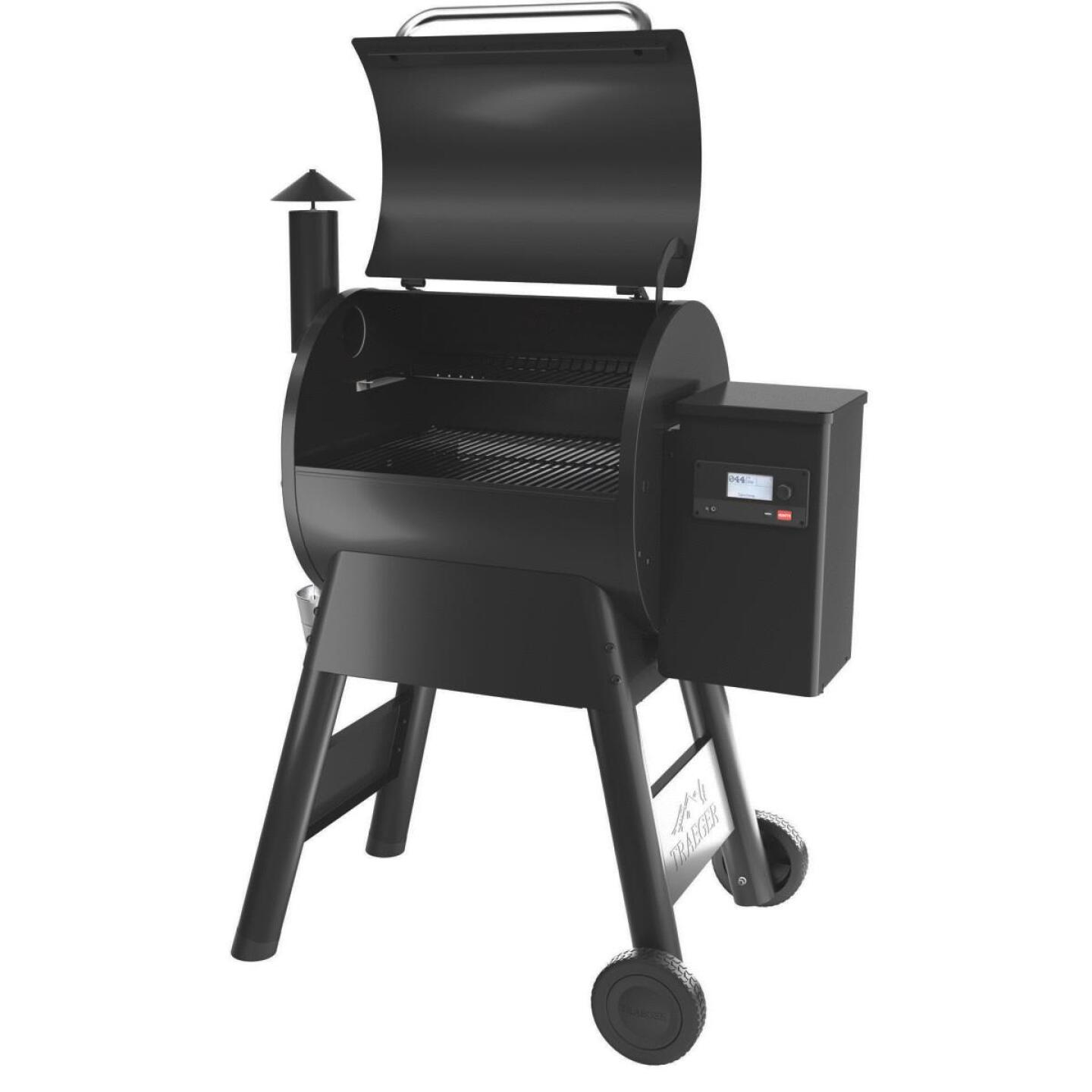 Traeger Pro 575 Black 36,000 BTU 572 Sq. In. Wood Pellet Grill Image 4