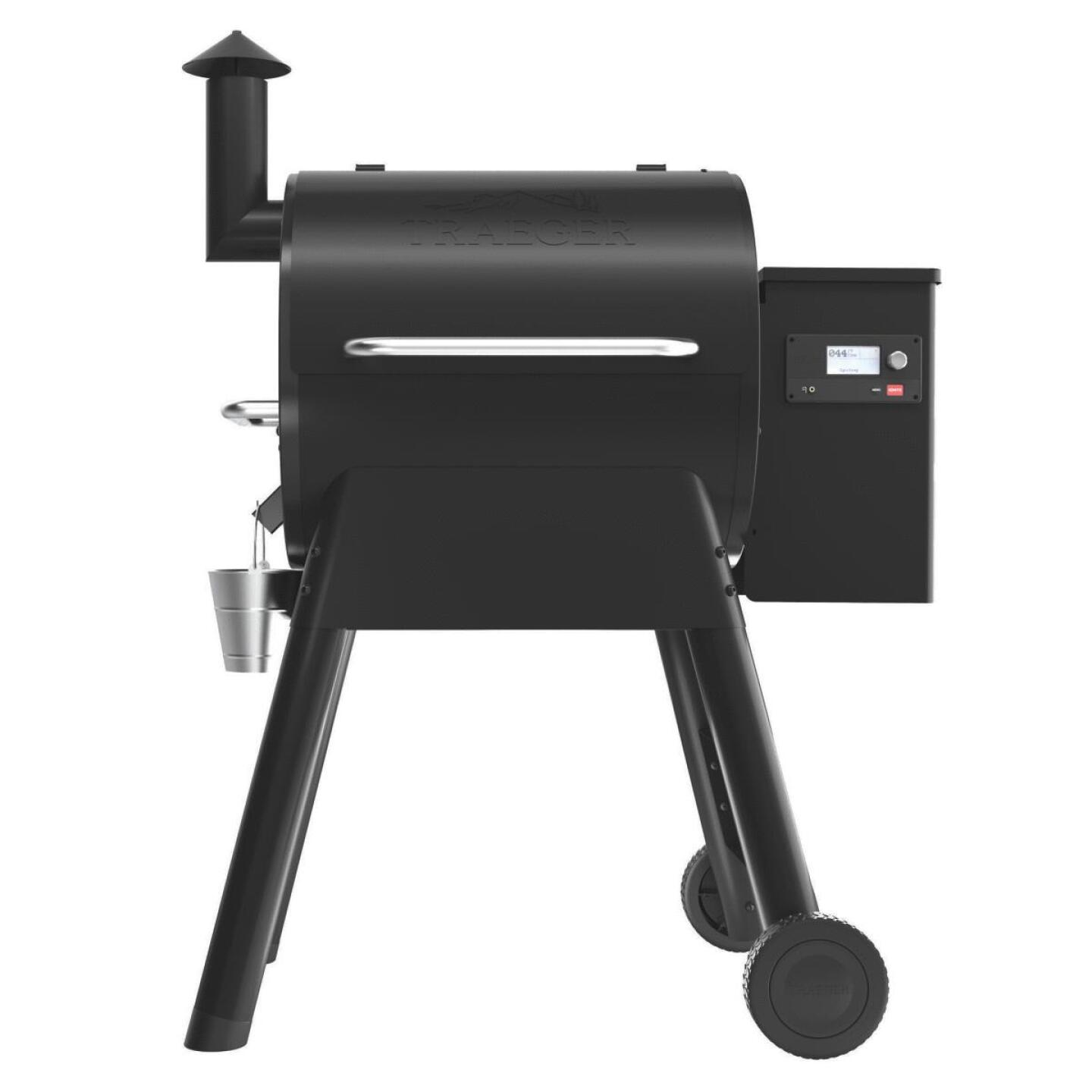 Traeger Pro 575 Black 36,000 BTU 572 Sq. In. Wood Pellet Grill Image 5